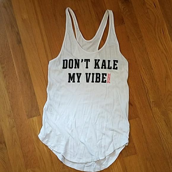 85a060797deec VS PINK Don't Kale My Vibe Tank